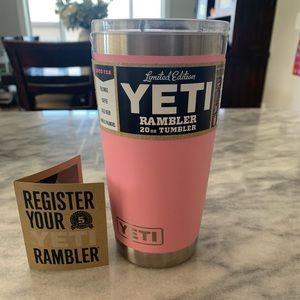 Yeti limited edition rambler le pink